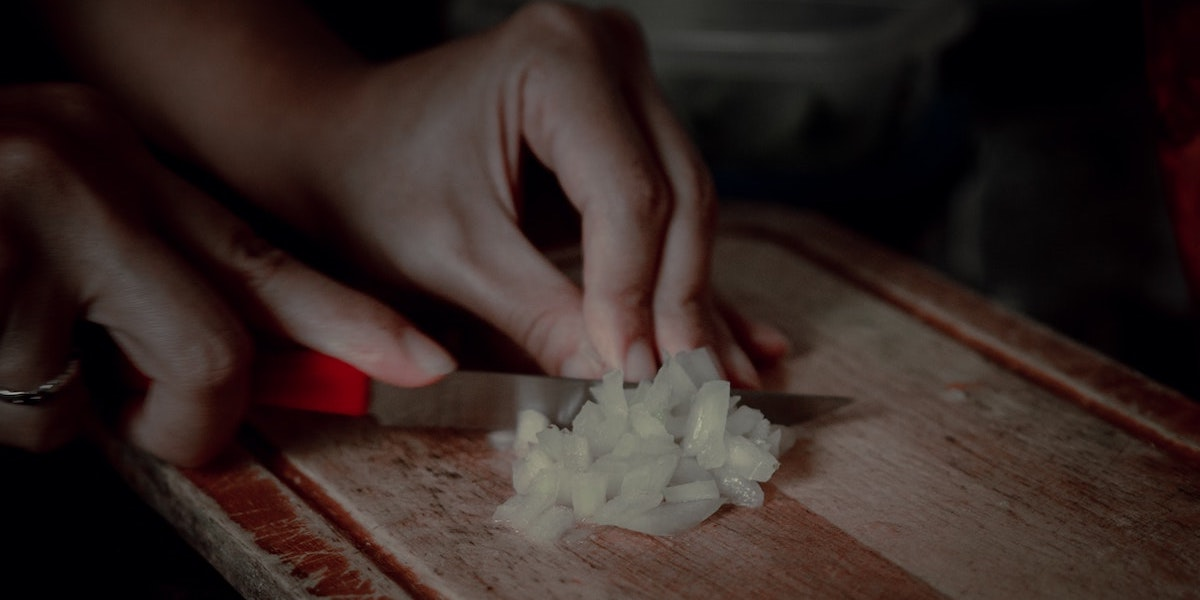 Cebolla caramelizada al microondas – in azúcar]